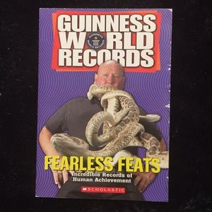 Guinness Wold Records Fearless Feats Book